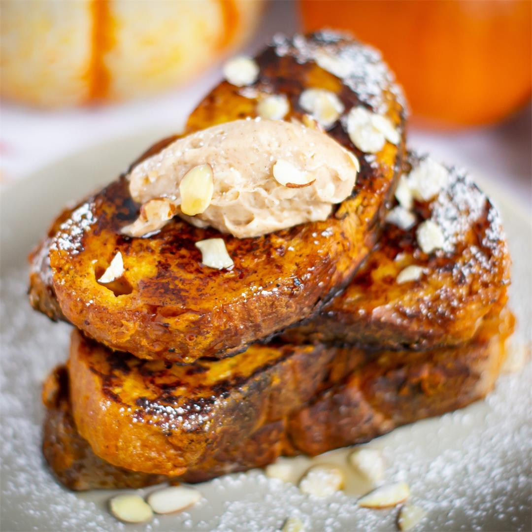 Pumpkin French Toast (Pain Perdu)