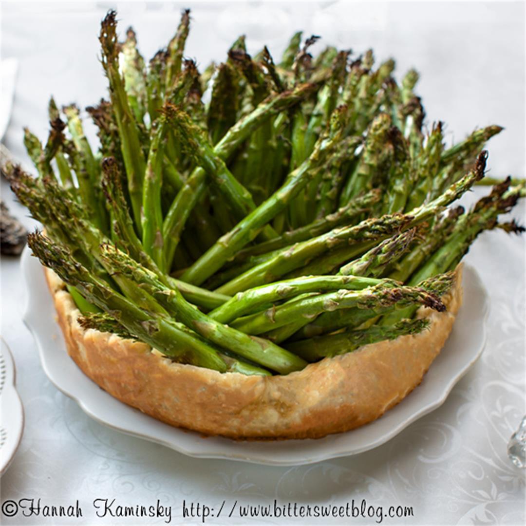 Asparagus Crown Roast