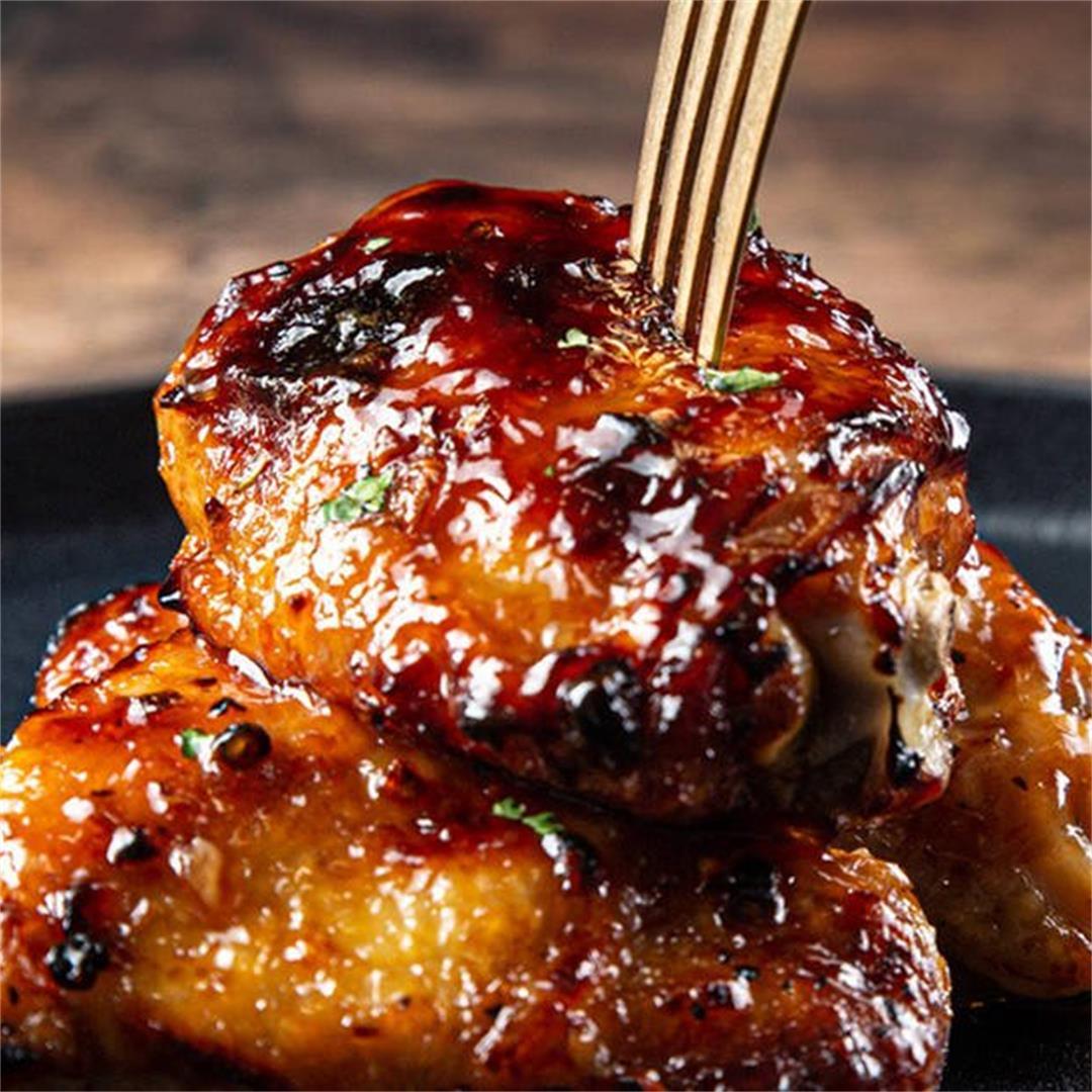 Instant Pot Juiciest Honey Garlic Chicken
