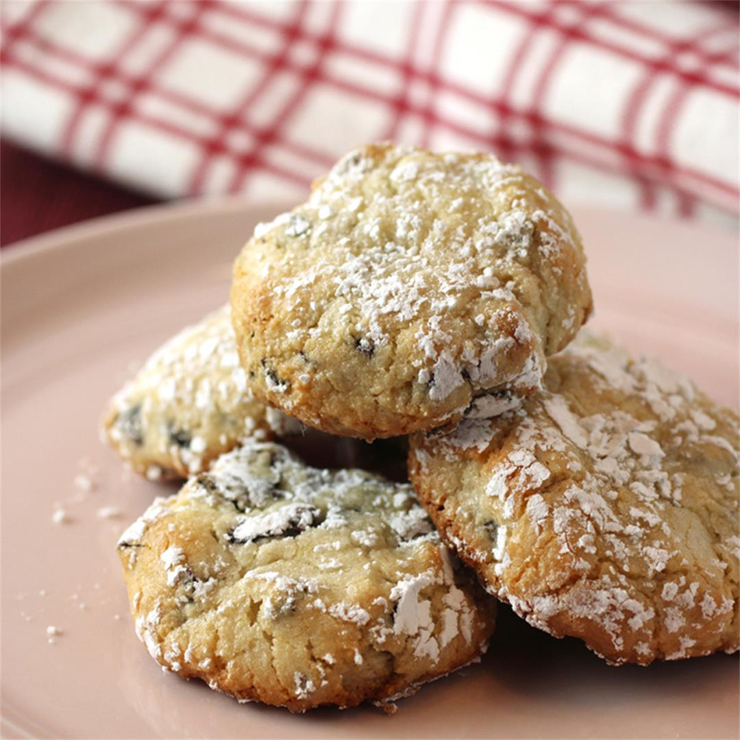Chef Alex Guarnaschelli's Gluten-Free Cherry Almond Cookies