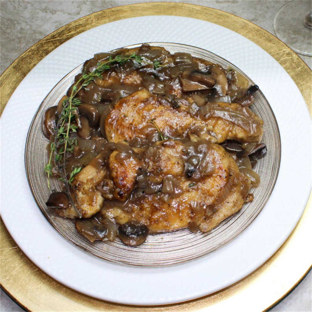 Click Here for our Quick Passover Chicken Marsala Recipe