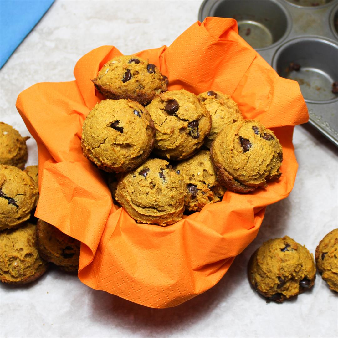 Click Here for our Dairy Free Passover Pumpkin Muffins With Cho