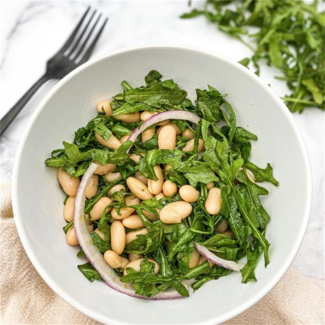 White Bean and Arugula Salad