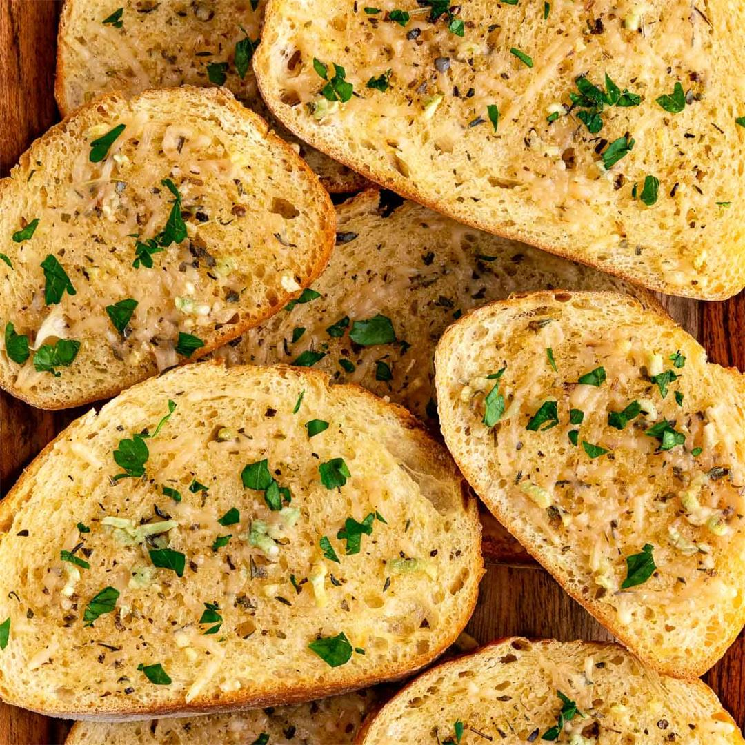 Vegan Garlic Bread