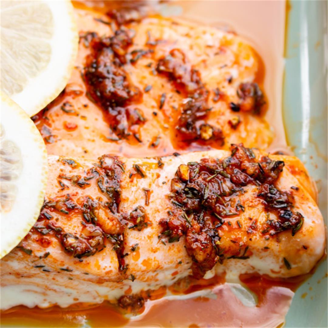 20 min Spiced Salmon