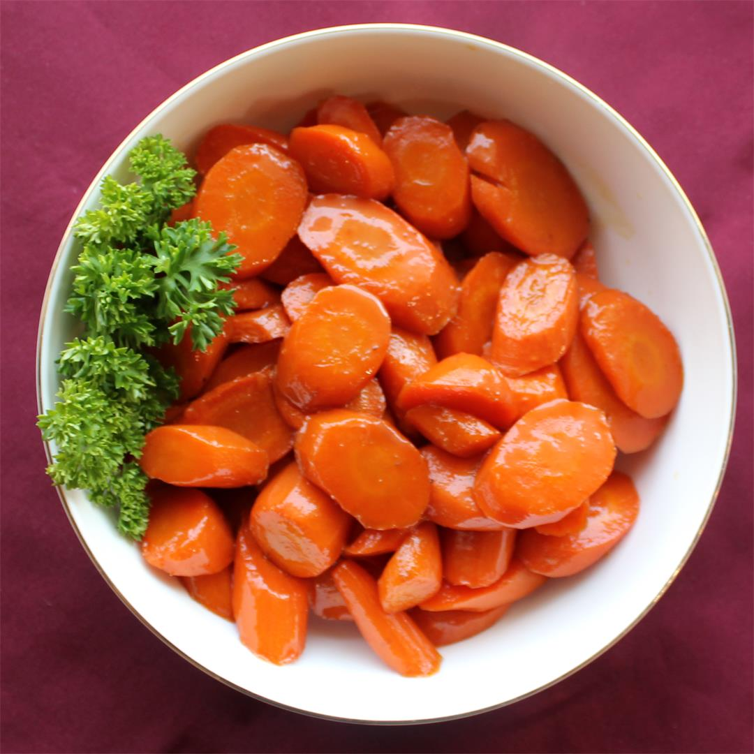 Click Here for our Rum and Brown Sugar Glazed Carrots For Passo