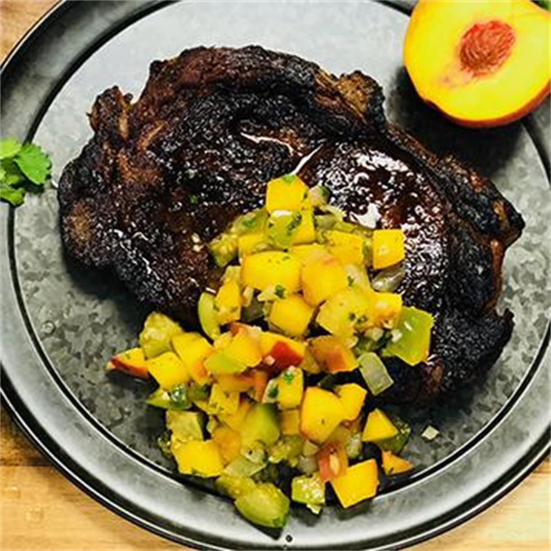 Honey Habanero Spiced Wagyu Beef Ribeye Steak