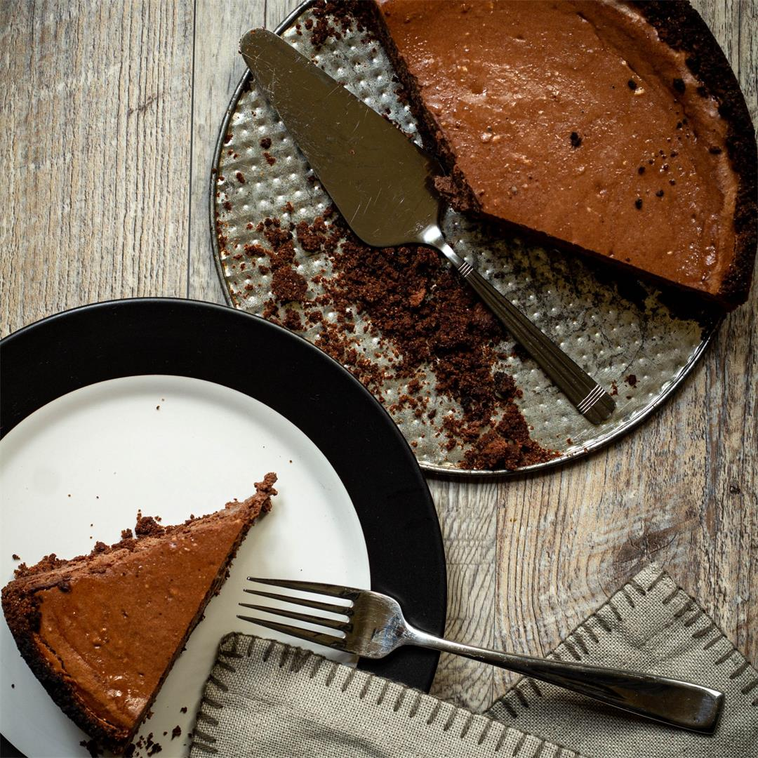 Dark Chocolate Orange Cheesecake