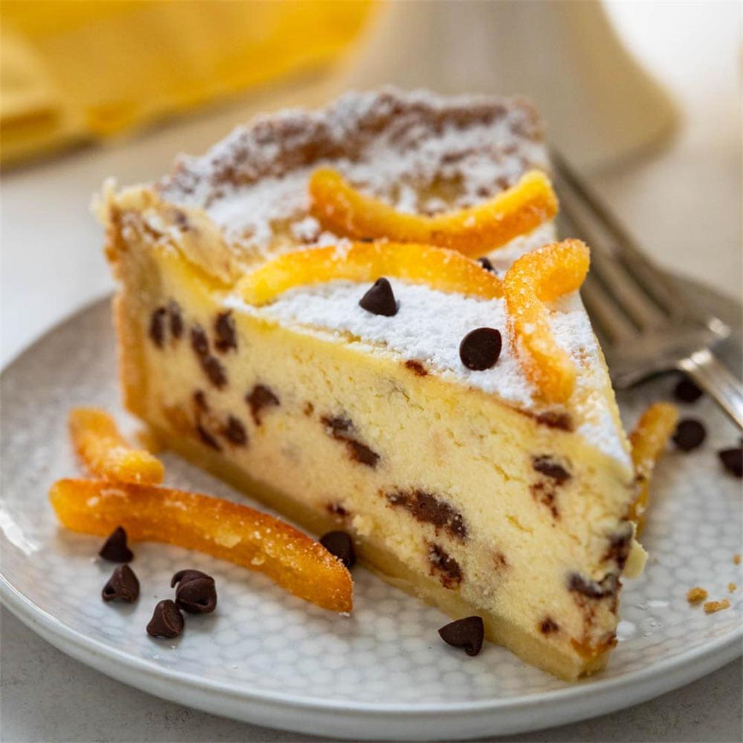 Authentic Italian Easter Ricotta Pie
