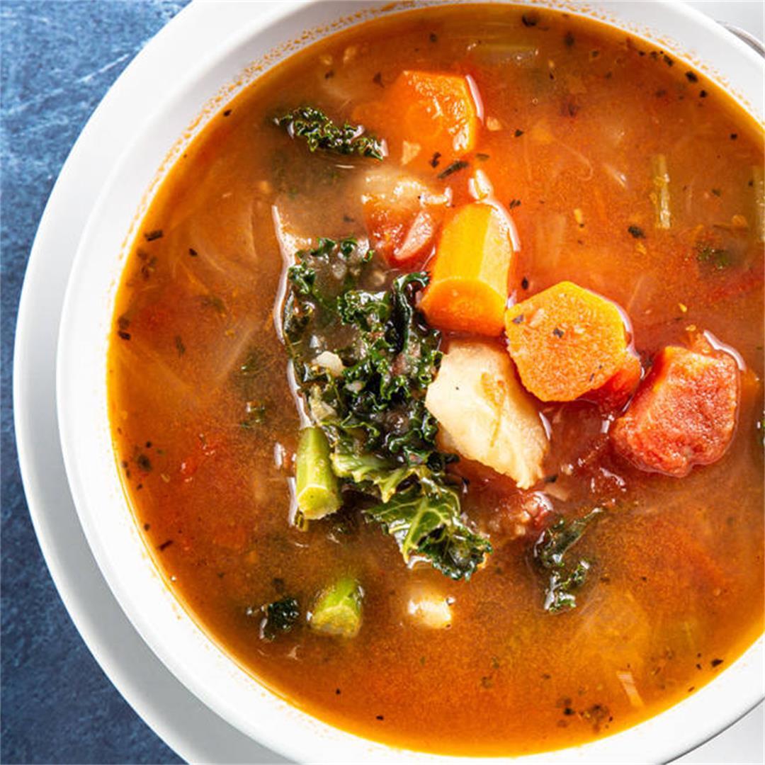Instant Pot Heartwarming Vegetable Soup