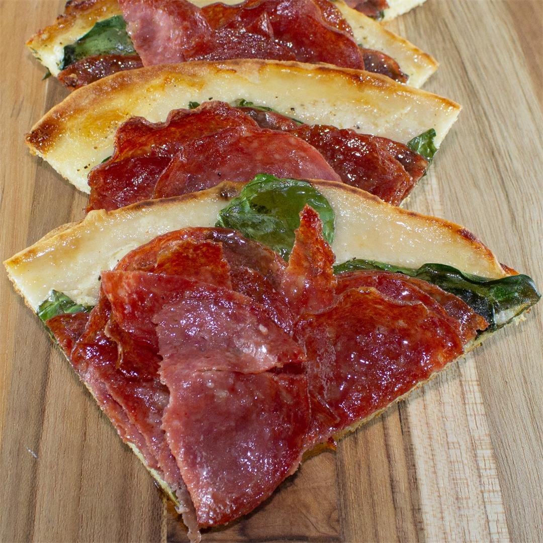 Click Here for our Kosher Salami Flatbread Recipe