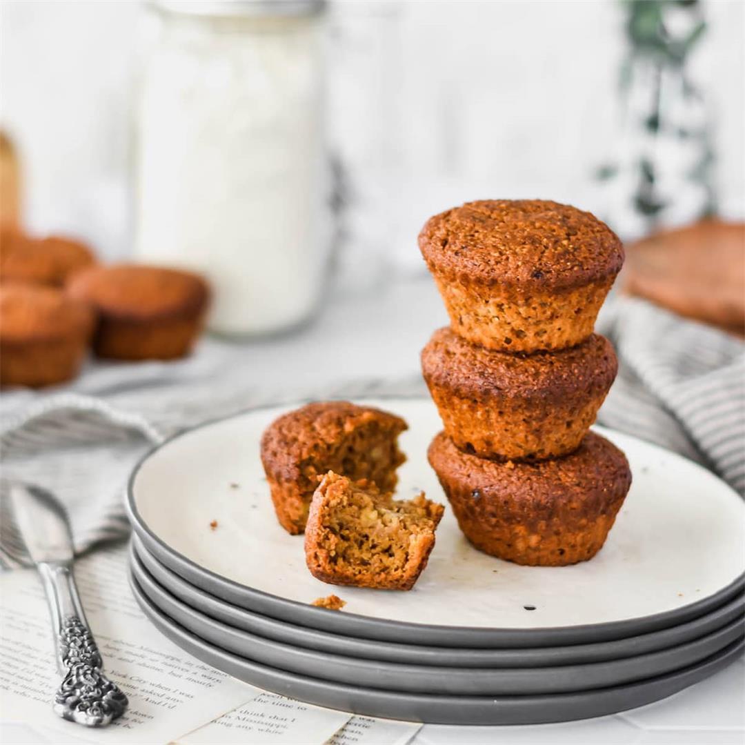 Banana Espresso Muffins (paleo, gluten-free) — Foodborne Wellne