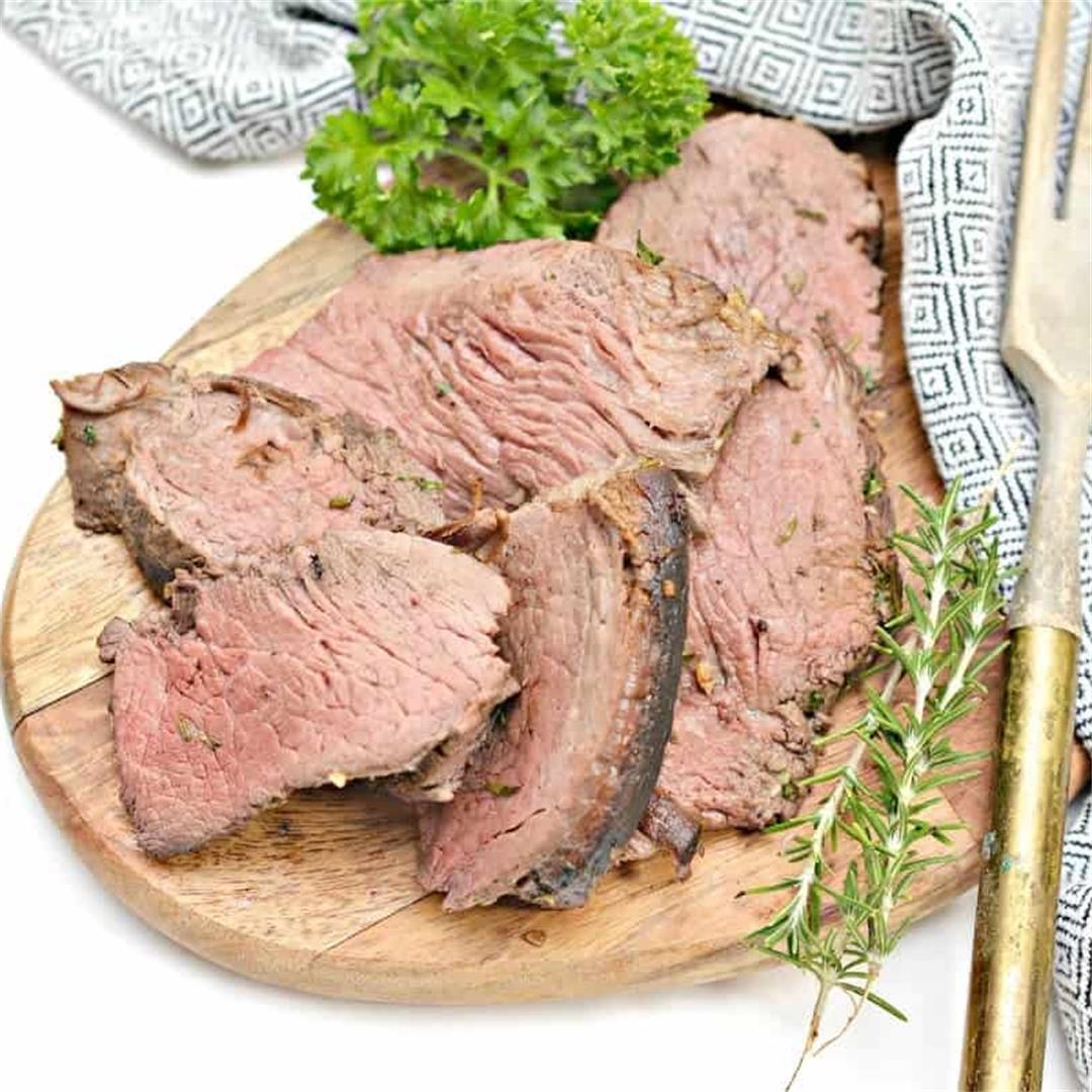 Beef Tenderloin Recipe With Herb Garlic Butter