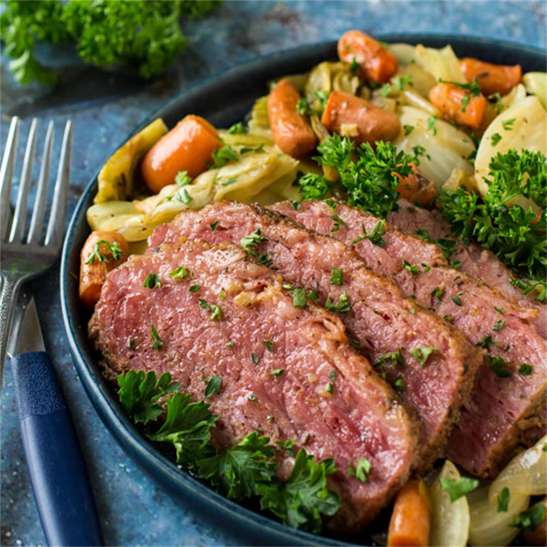 Irish Braised Corned Beef