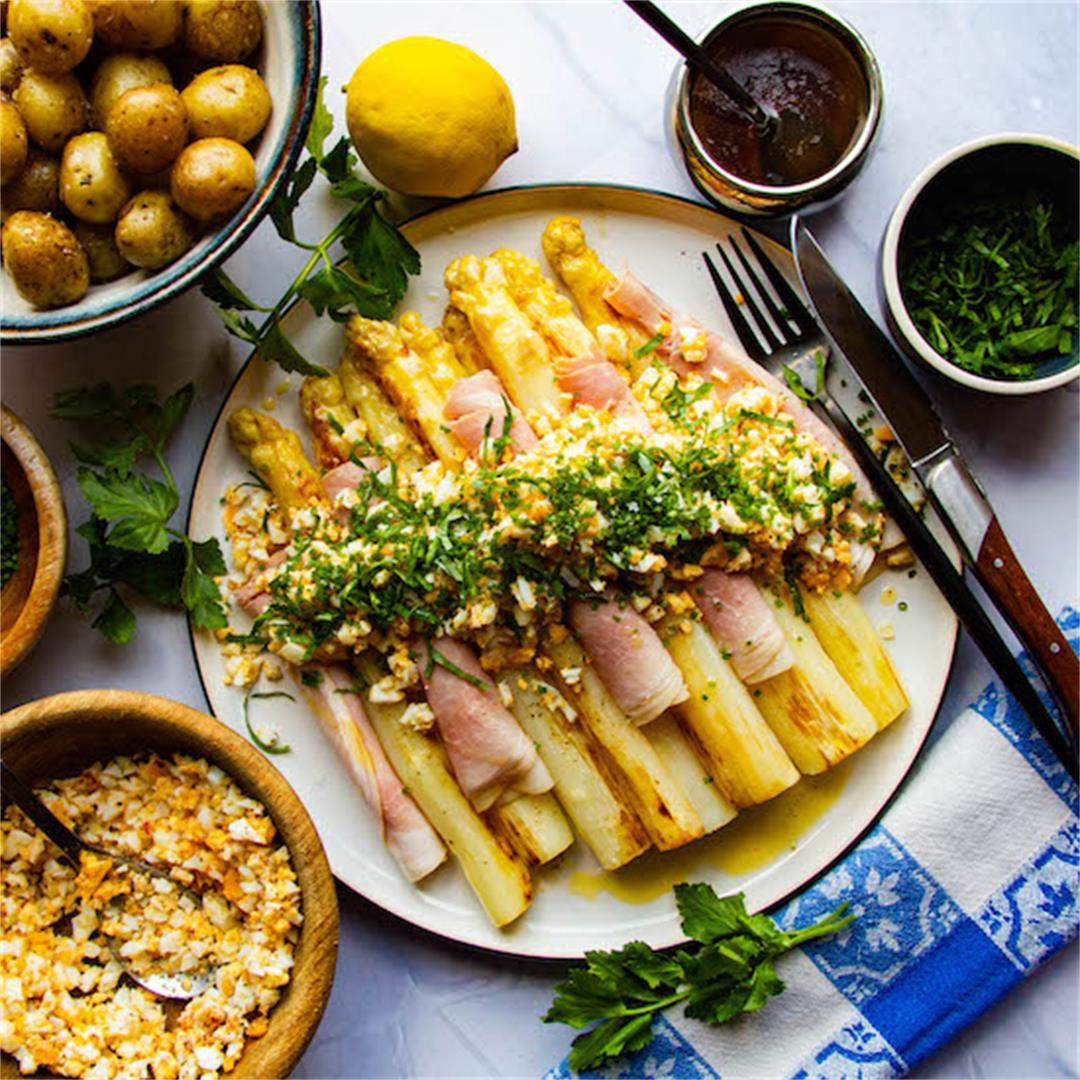 A White Asparagus Recipe