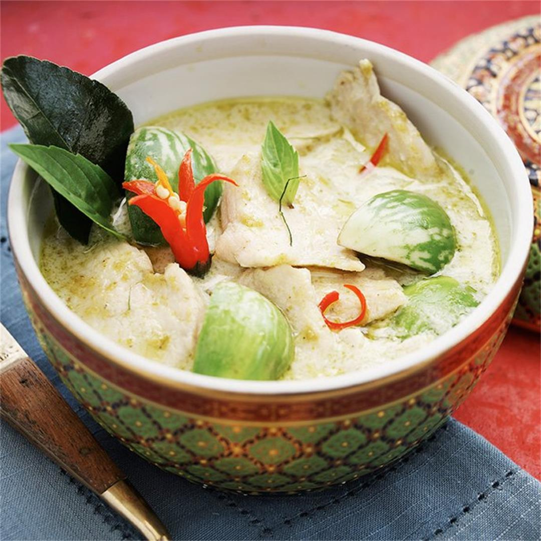 Chicken and Thai Green Curry Sauce
