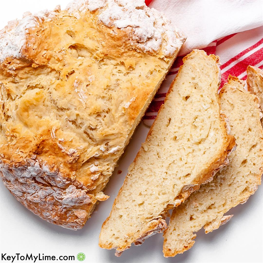 Grandma's Irish Soda Bread Recipe - Key To My Lime