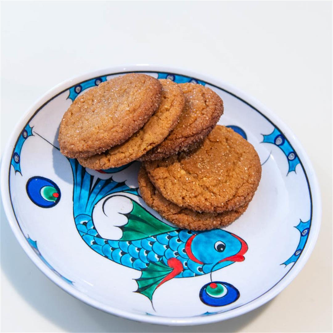 Peanut Butter-Miso Cookies