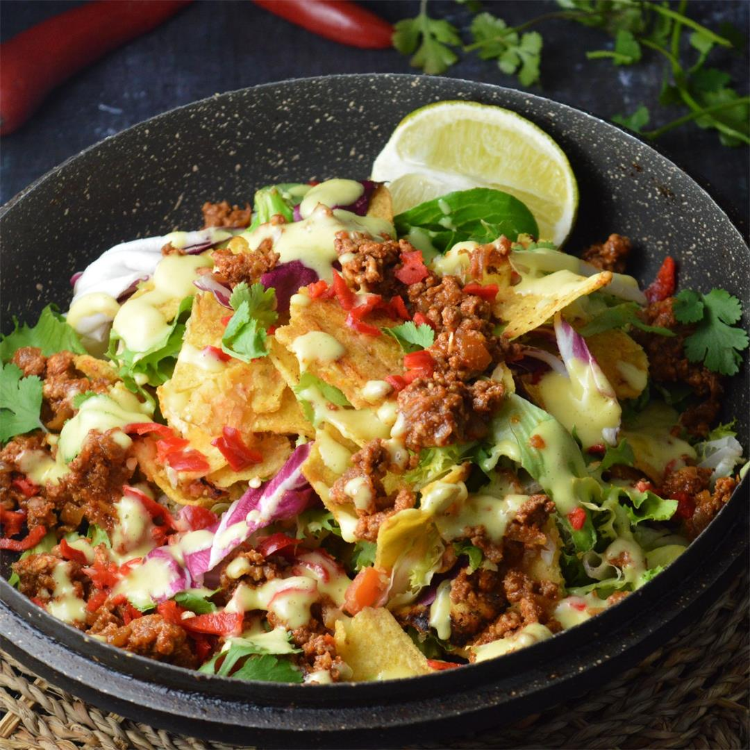 Leftover Nachos Salad — Tasty Food for Busy Mums Leftover Recip
