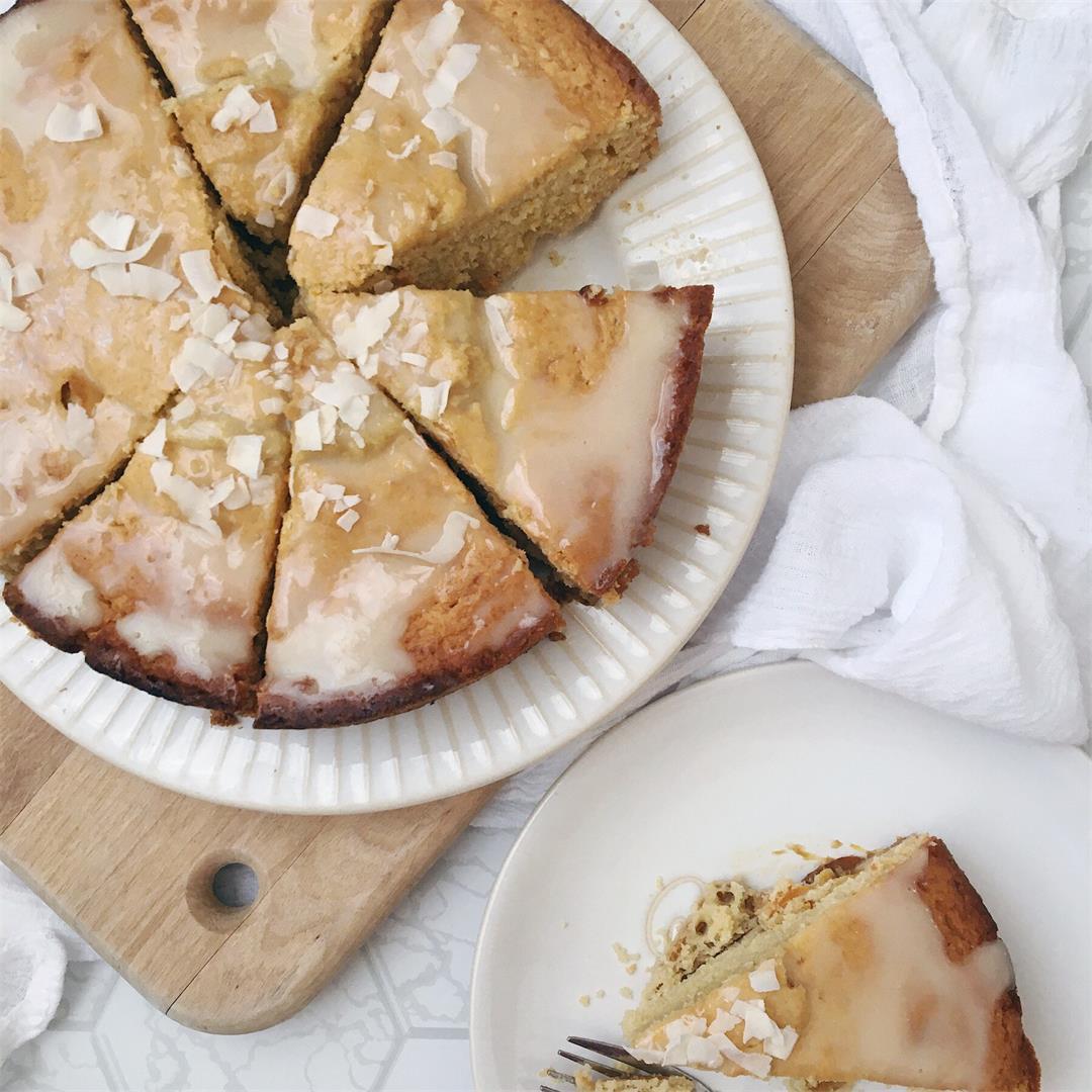 Honey-Glazed Roasted Lemon Cake