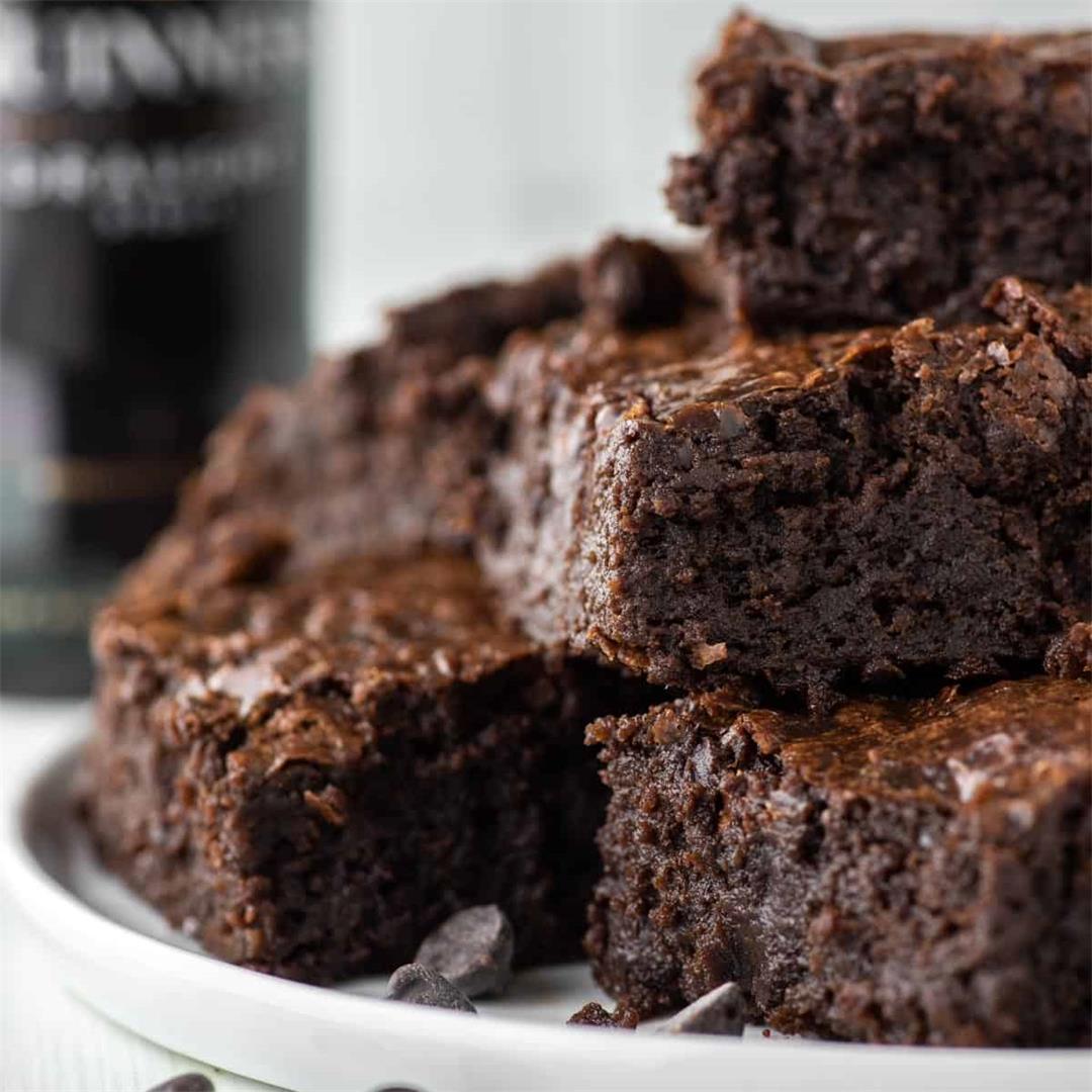 Chocolate Guinness Brownies