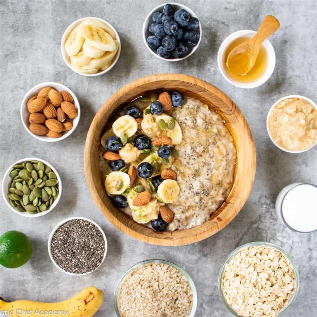 Protein Powered Quinoa Porridge