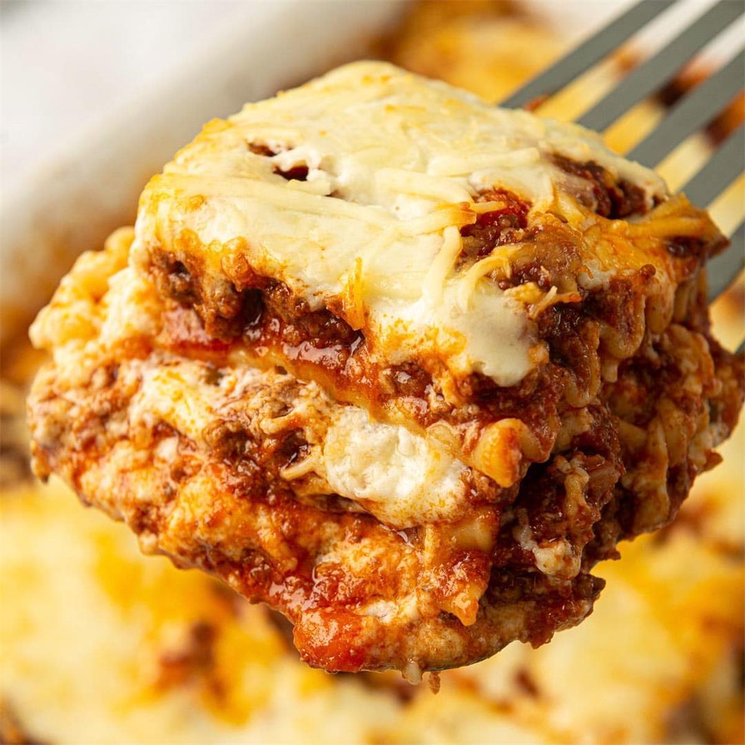 Beef Lasagna / Lasagne alla Bolognese