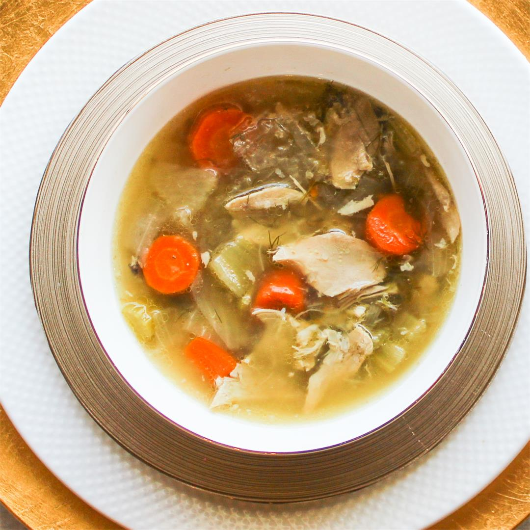 Click Here for our Passover Easy Chicken Soup From Scratch