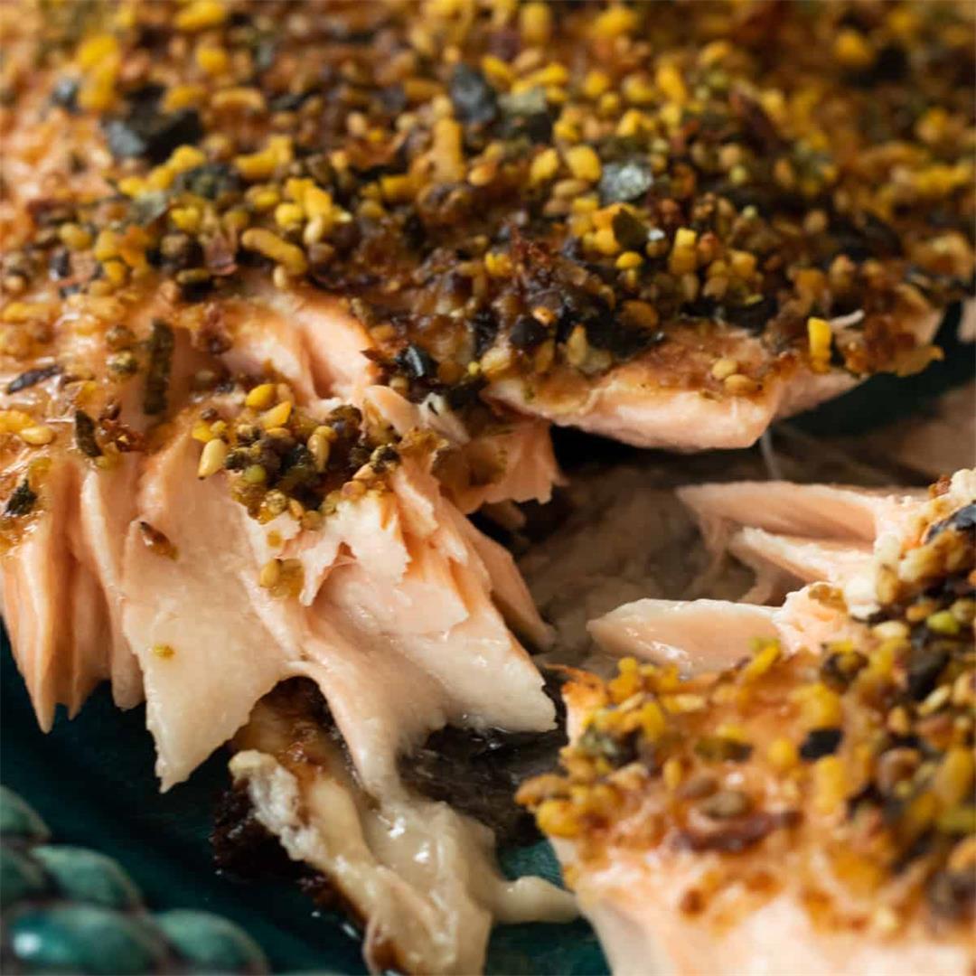 Crispy Baked Furikake Salmon