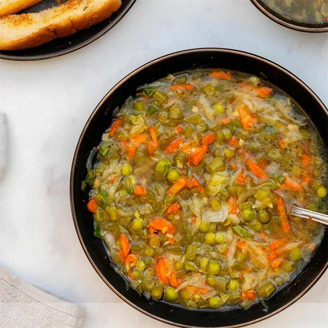 Vegetable Soup Recipe | Healthy and comforting food