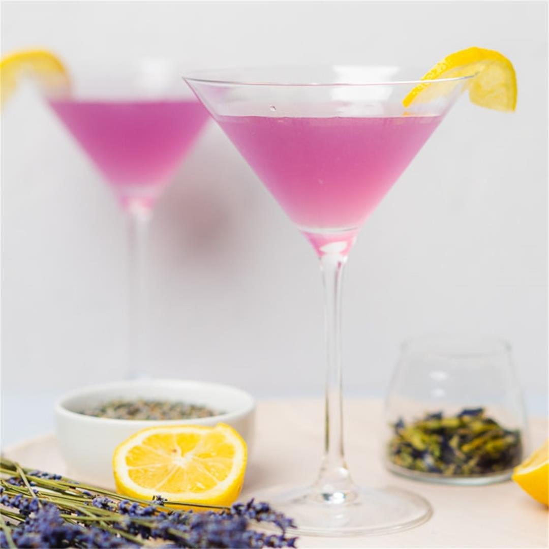 Lavender Martini (Sugar Free and Keto)