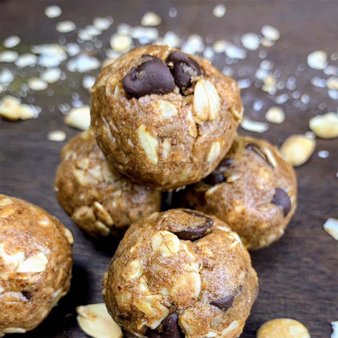 Peanut Butter Oats Energy Bite : No Bake Recipe