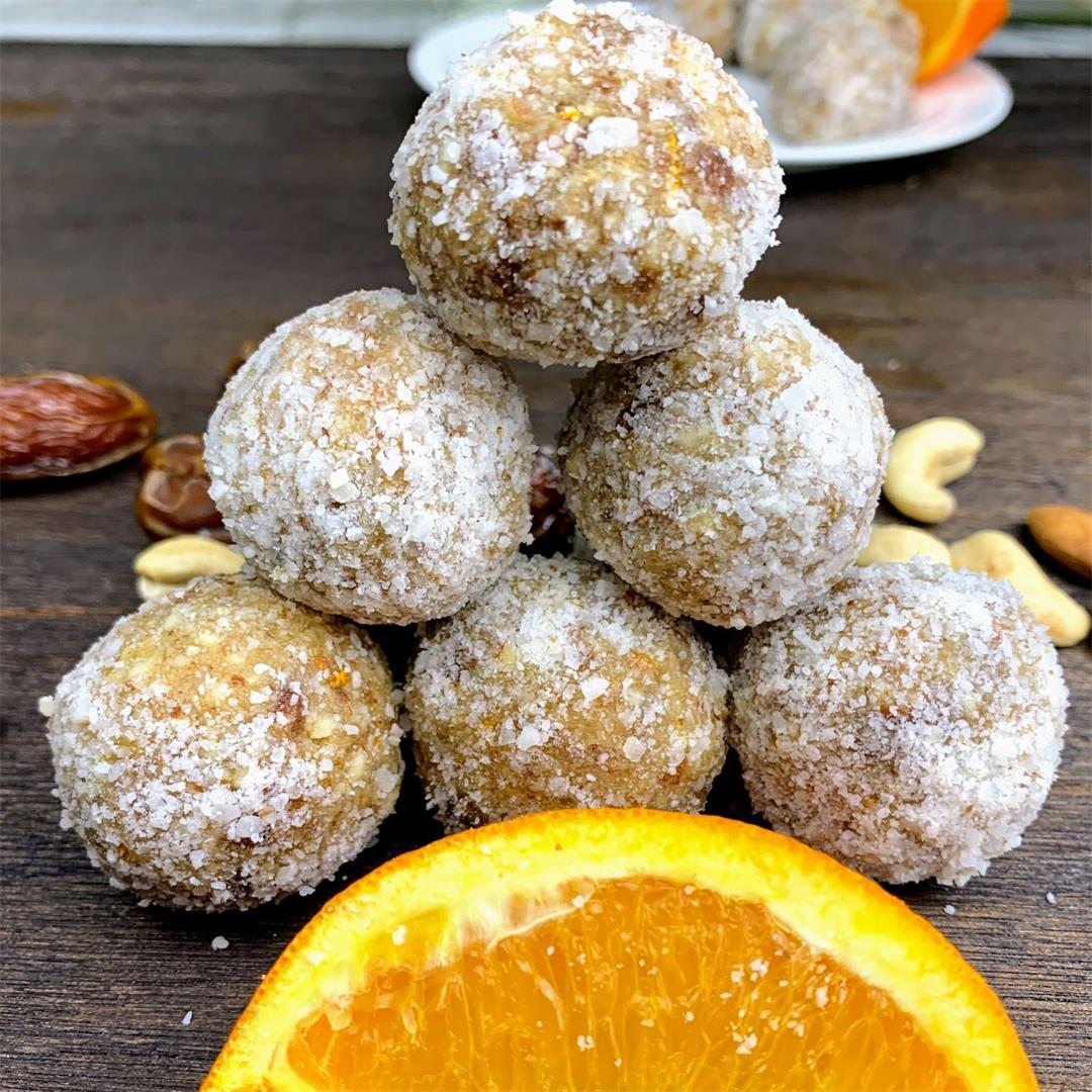Orange Bliss Energy Balls