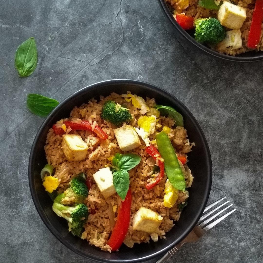 Instant Pot Thai Fried Rice