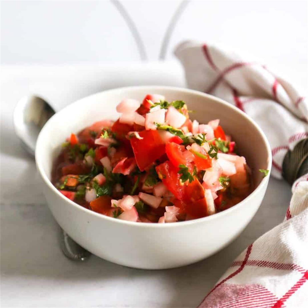 Vegan Ceviche with Vine Ripe Tomatoes