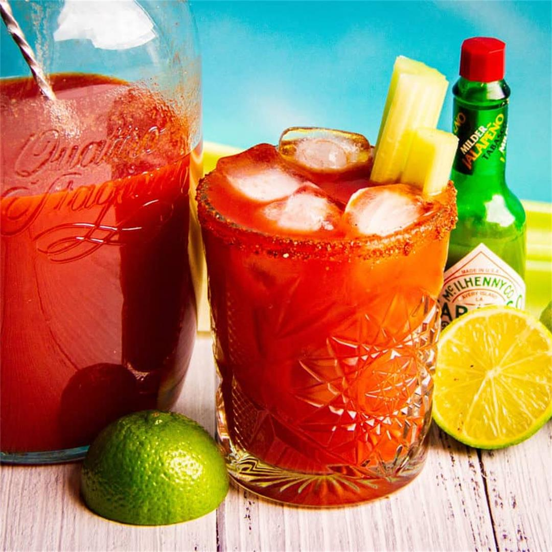 The Easiest BBQ Bloody Mary