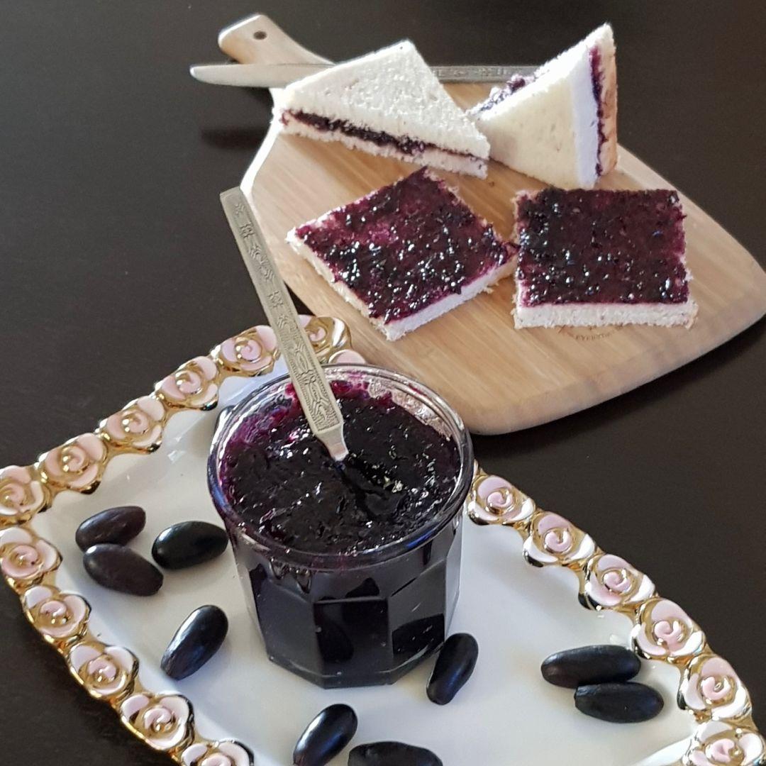 Black Grape Jam Recipe/How To Make Jam Without Pectin |