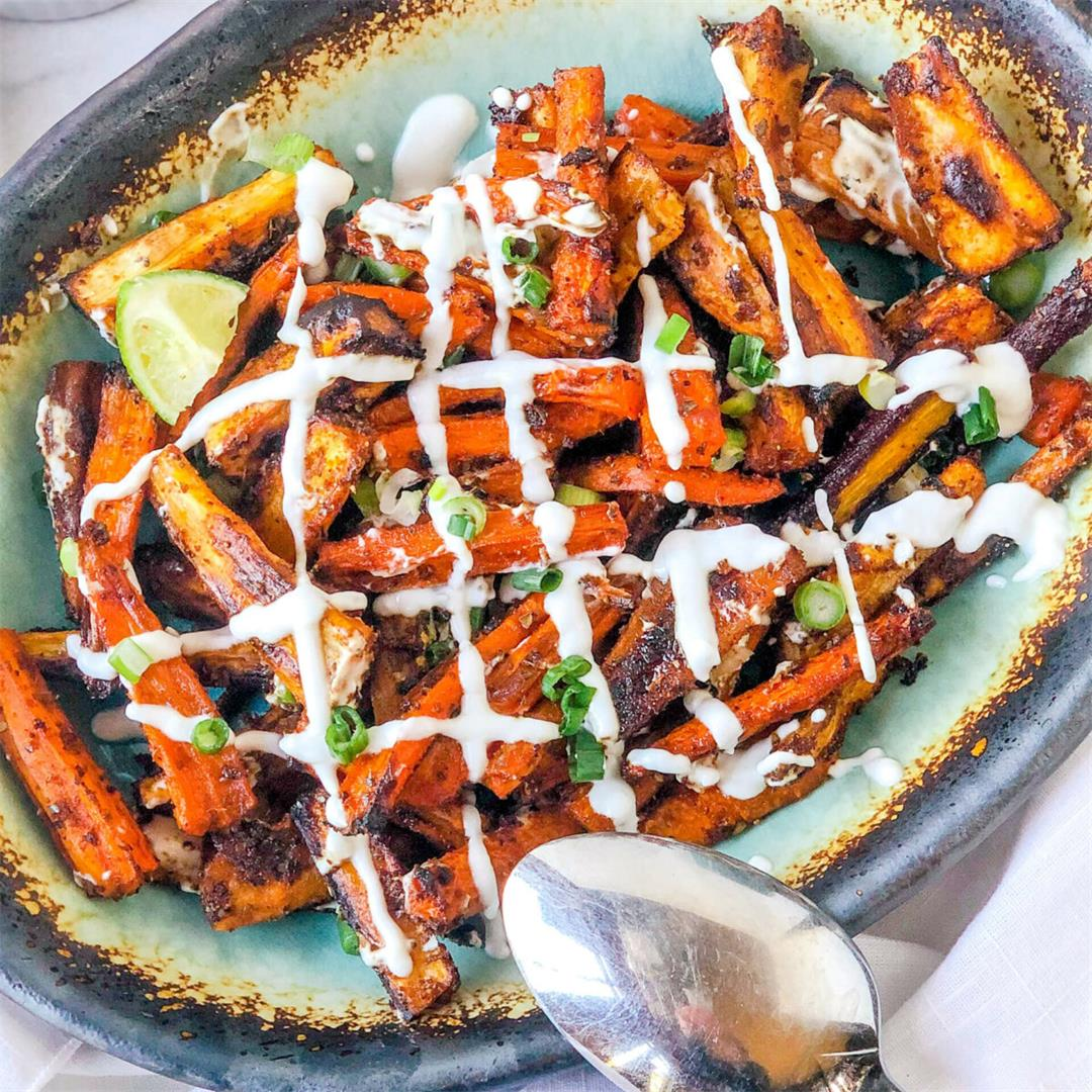 Zesty Roasted Carrots and Parsnips