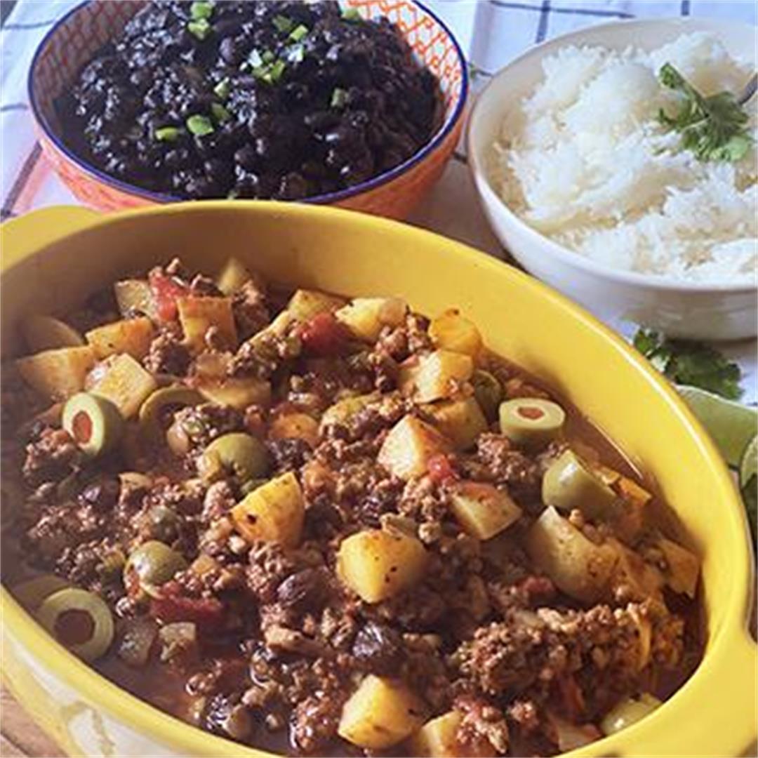 Cuban Picadillo with Wagyu Beef