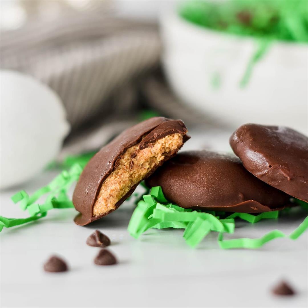 Keto Peanut Butter Eggs — Foodborne Wellness