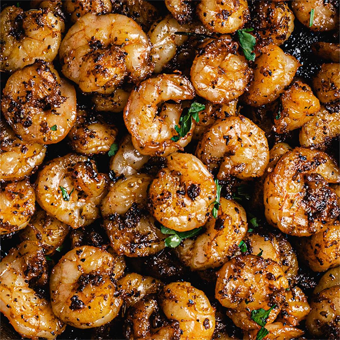 Blackened Shrimp Recipe