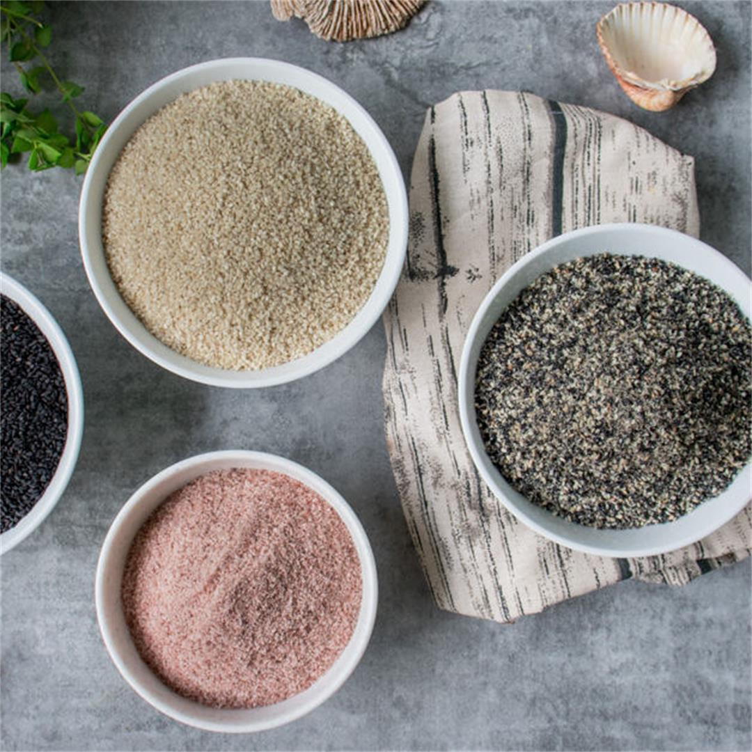 Gomashio (Macrobiotic Sesame Seed Salt)