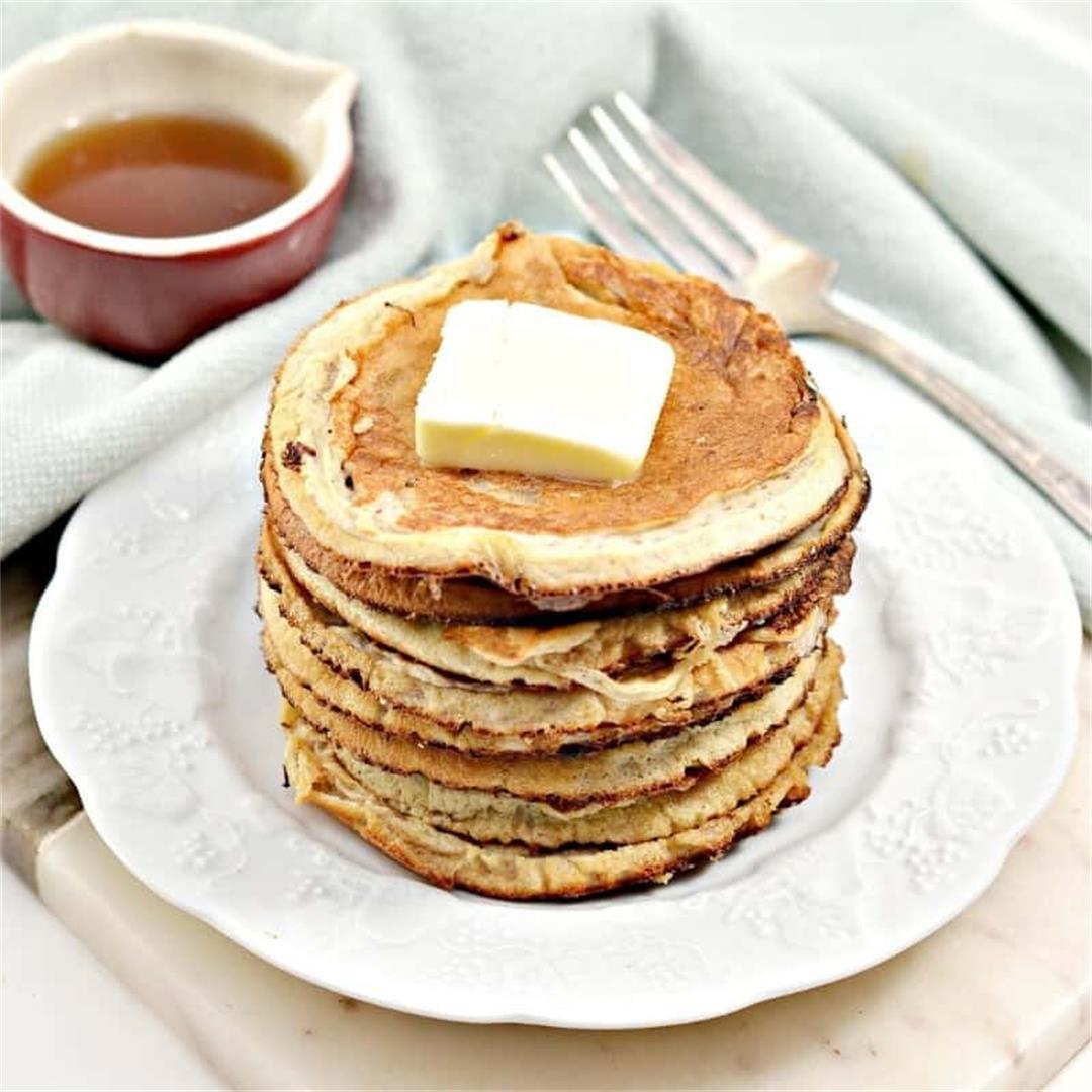 Low Carb Protein Pancakes Recipe