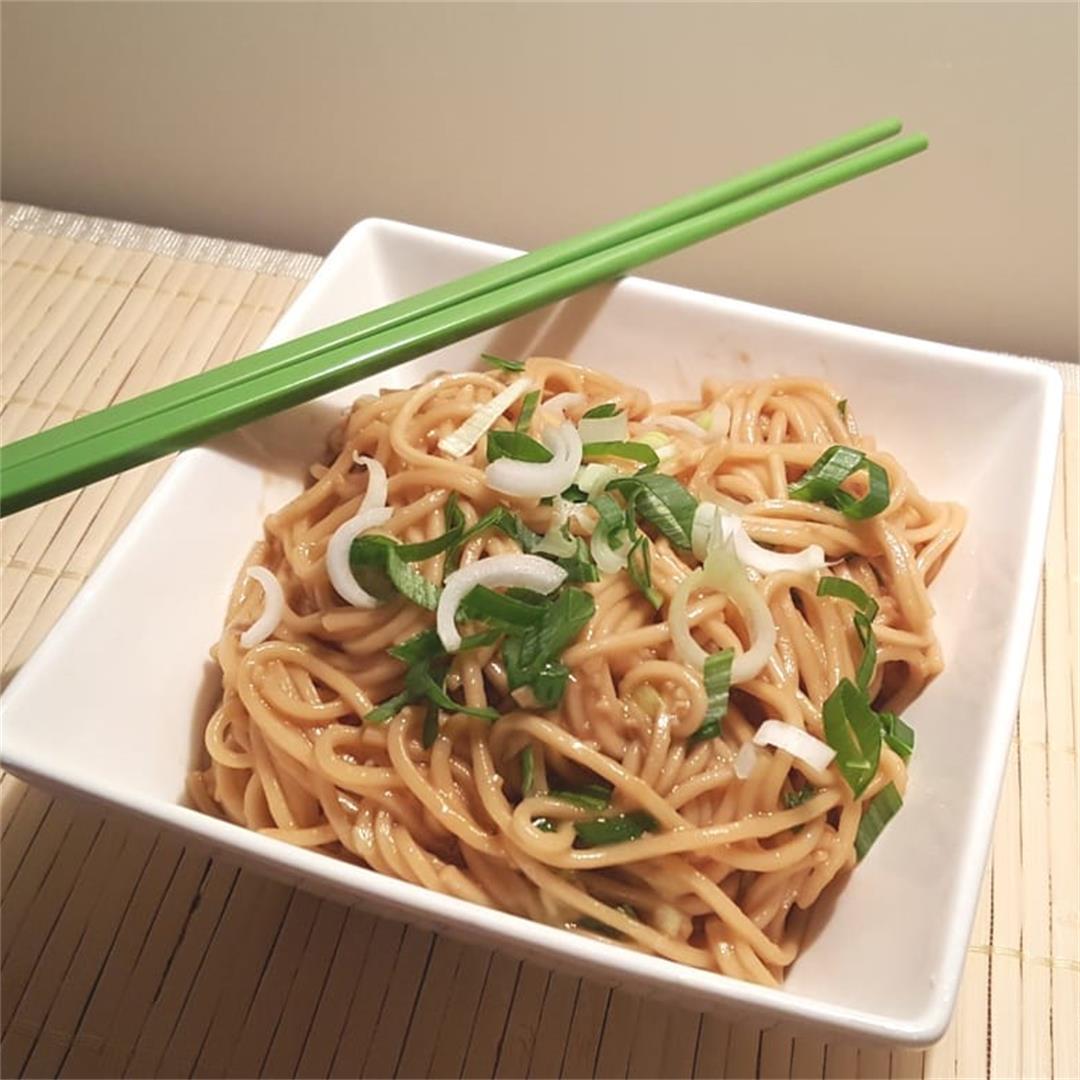 Stove or Pressure Cooker Simple Sesame Noodles