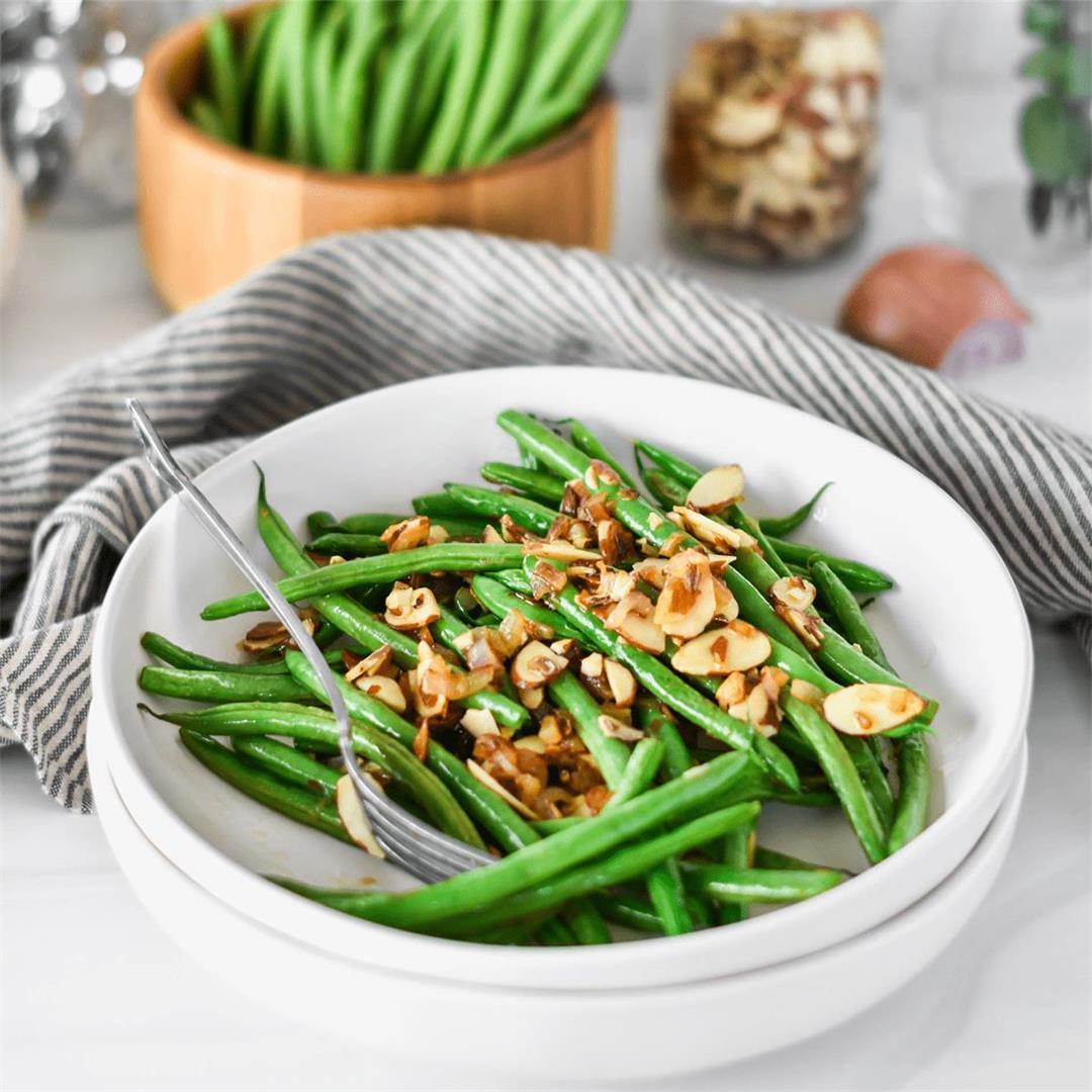 Whole30 Green Beans Almondine — Foodborne Wellness