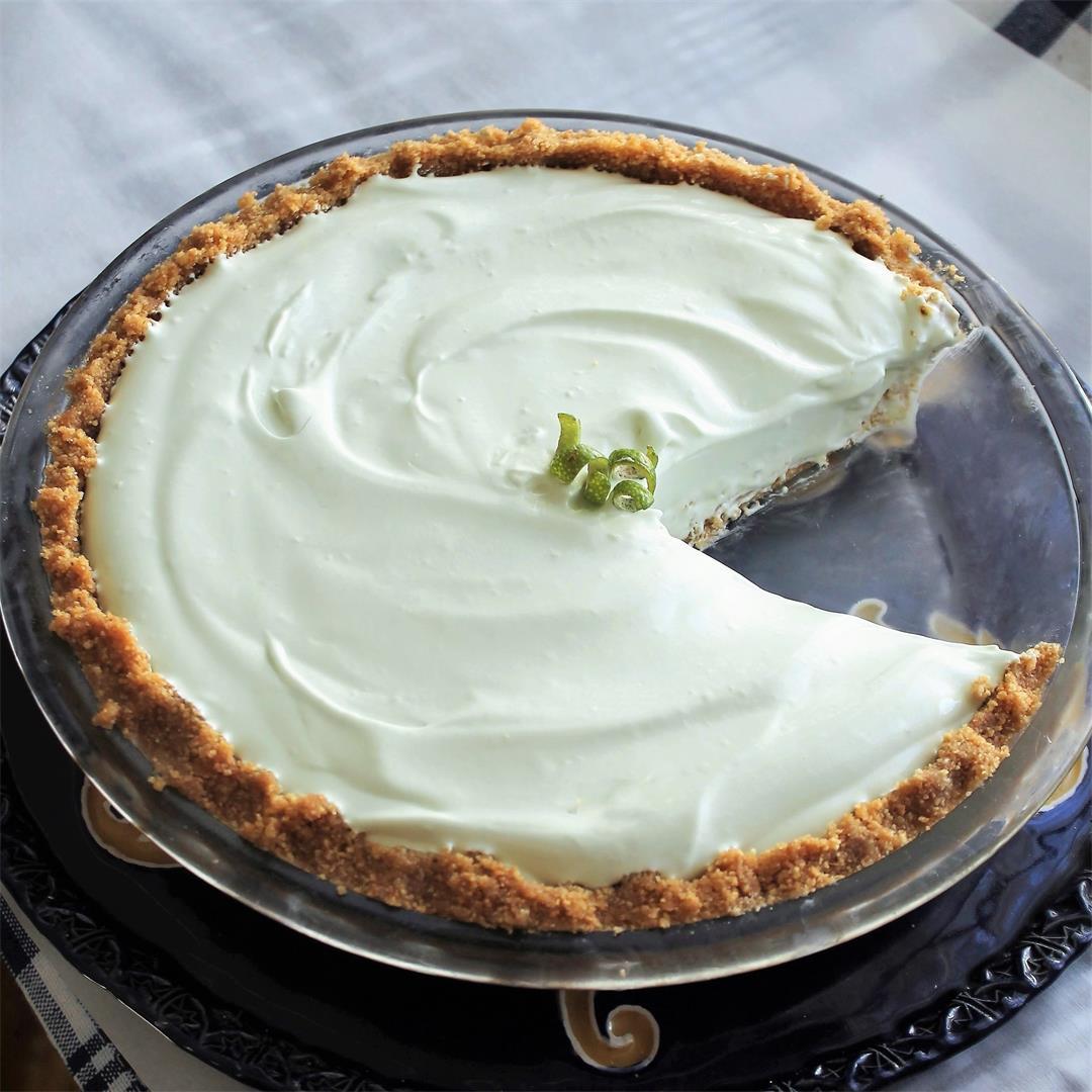 Creamy Key Lime Pie – My Recipe Reviews