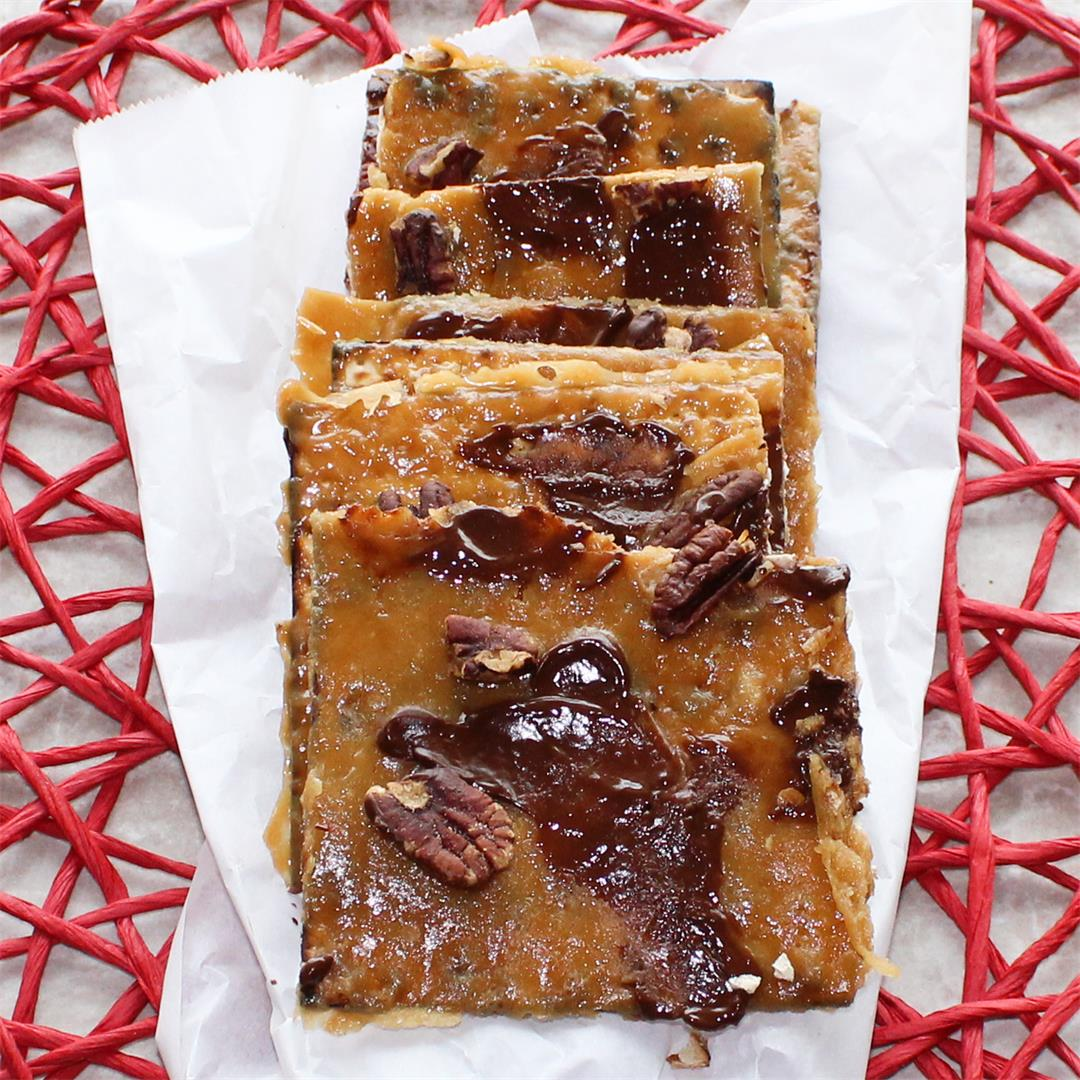 Click Here for our Easy Passover Matzo Toffee Recipe
