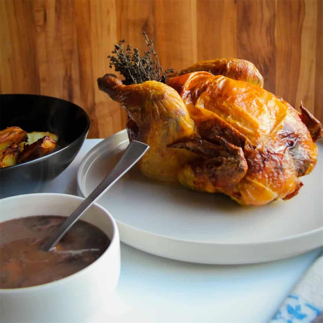 How to Make a Roast Chicken Dinner
