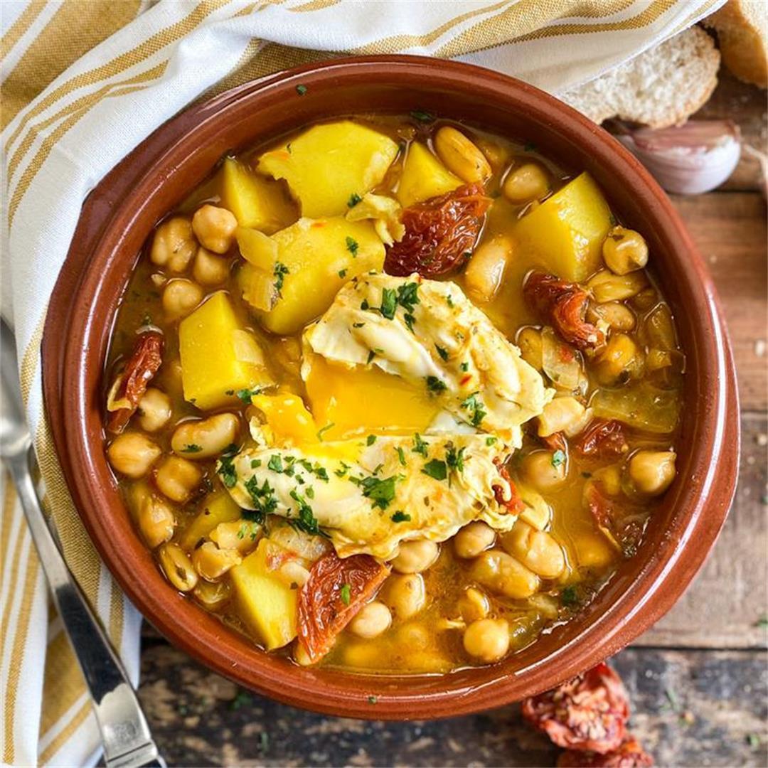 Classic Spanish Easter Stew | Potaje de Semana Santa Recipe