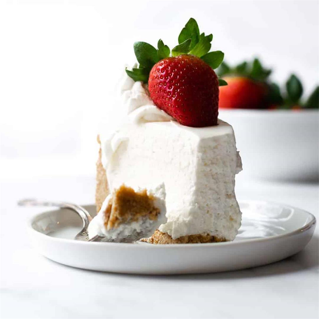 The Most Perfect No-Bake Cheesecake Recipe